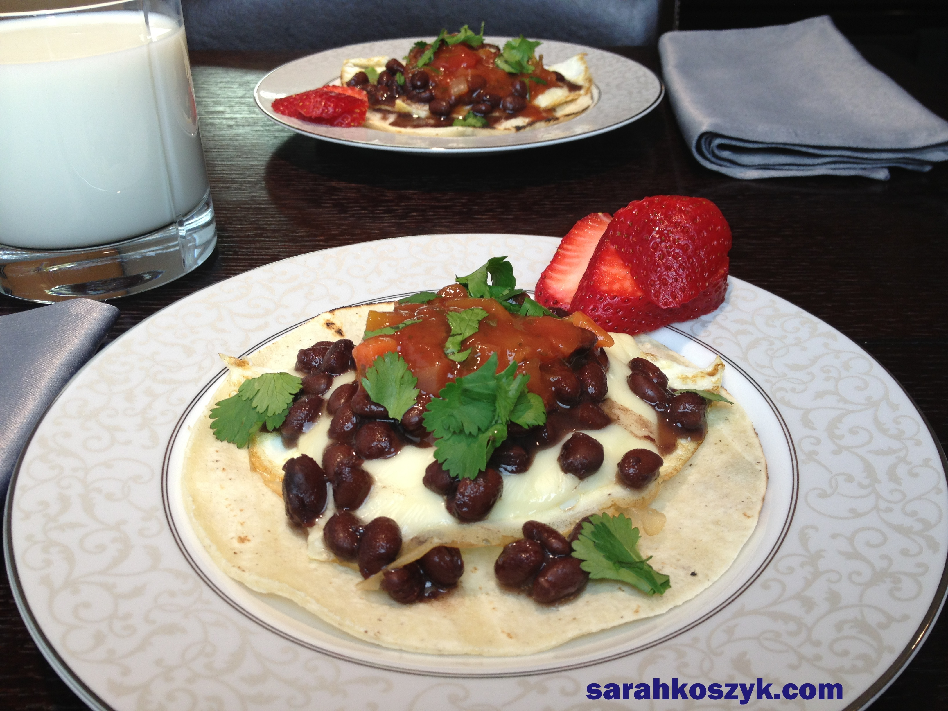 ... Tacos With Eggs - Sarah Koszyk Family. Food. Fiesta.   Sarah Koszyk