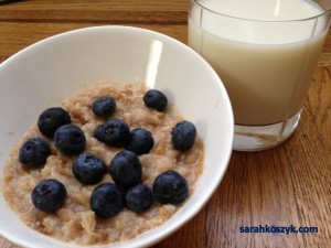 Oatmeal_Blueberries