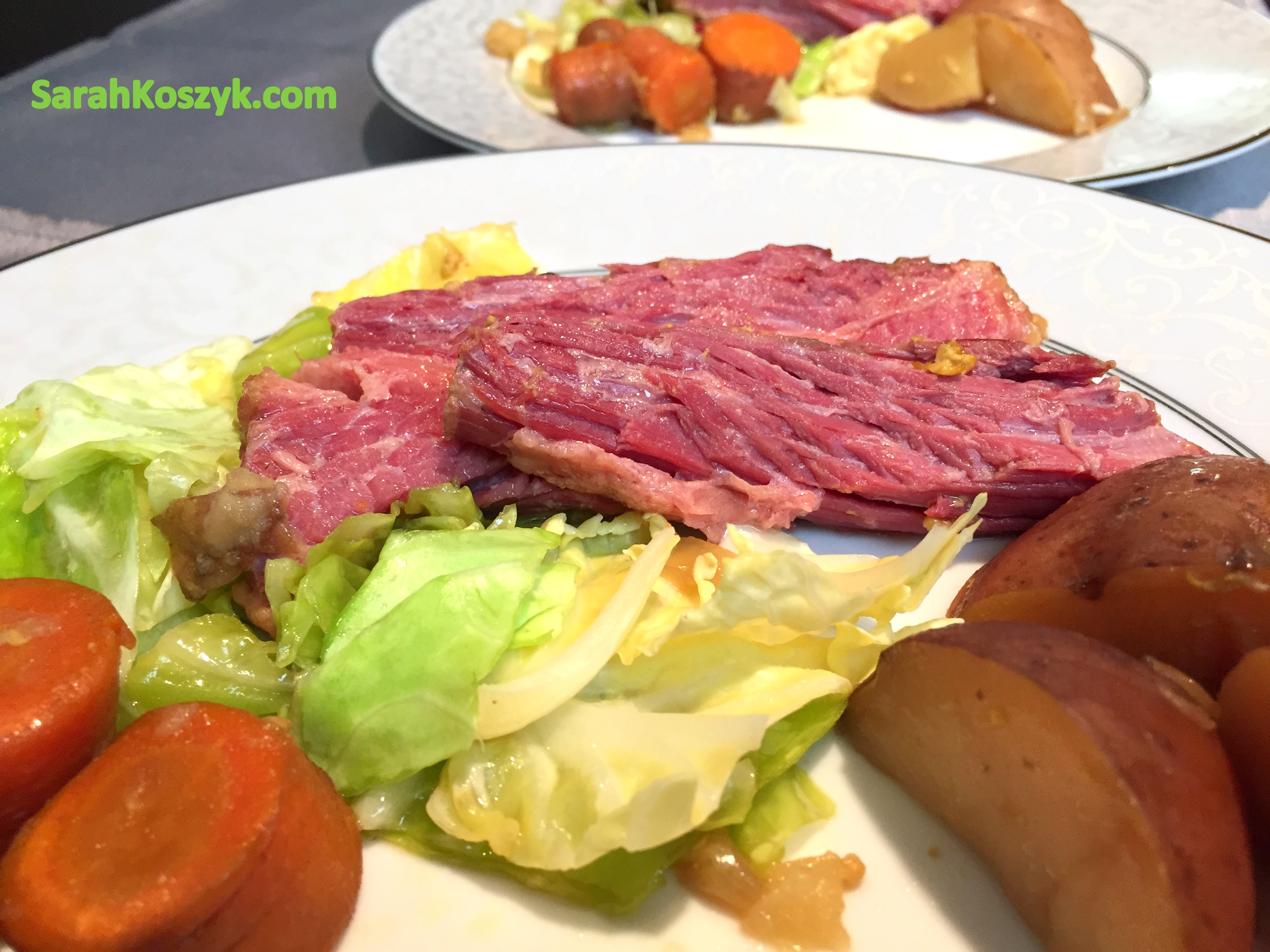 Guinness Corned Beef With Cabbage Recipe — Dishmaps