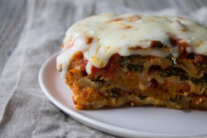 Slow Cooker Butternut Squash and Kale Lasagna-11