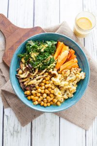Immunity Boosting Buddha Bowl with Turmeric Tahini Dressing-3-2